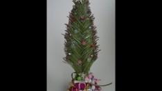 Dekoratif Yılbaşı Ağacı Yapımı